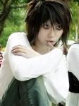 cosplay L de Death Note