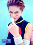 cosplay Hisoka de Hunter x hunter