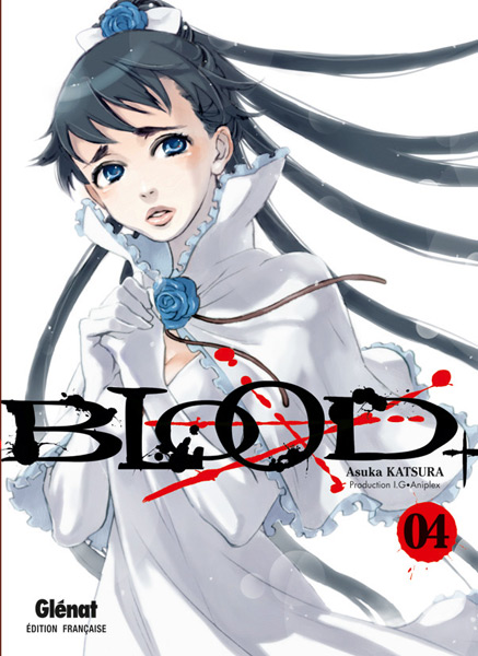 blood манга: