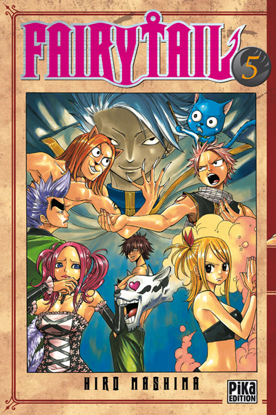 Fairy tail manga info critique avis mangagate - Image manga fairy tail ...