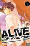 Alive Last Evolution (manga) volume / tome 1
