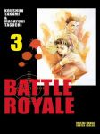 Battle Royale (manga) volume / tome 3