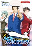 Phoenix Wright : Ace Attorney (manga) volume / tome 5
