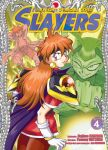 Slayers - The Knight of Aqua Lord (manga) volume / tome 4