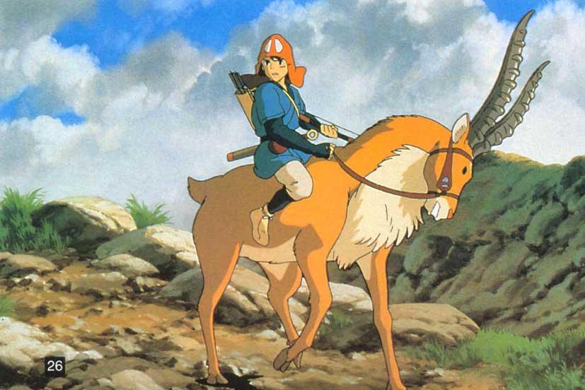 Princesse Mononoke Anime Info Critique Avis Mangagate