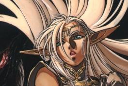 Pirotess avatar du personnage de Chroniques de la Guerre de Lodoss