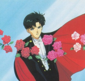 Mamoru Chiba - Tuxedo kamen avatar du personnage de Sailor Moon