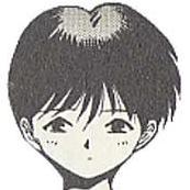 Yoriko avatar du personnage de 3x3 eyes