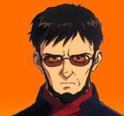 Gendo IKARI avatar du personnage de Neon Genesis Evangelion