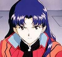 Misato KATSURAGI avatar du personnage de Neon Genesis Evangelion