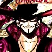 Mihawk avatar du personnage de One piece